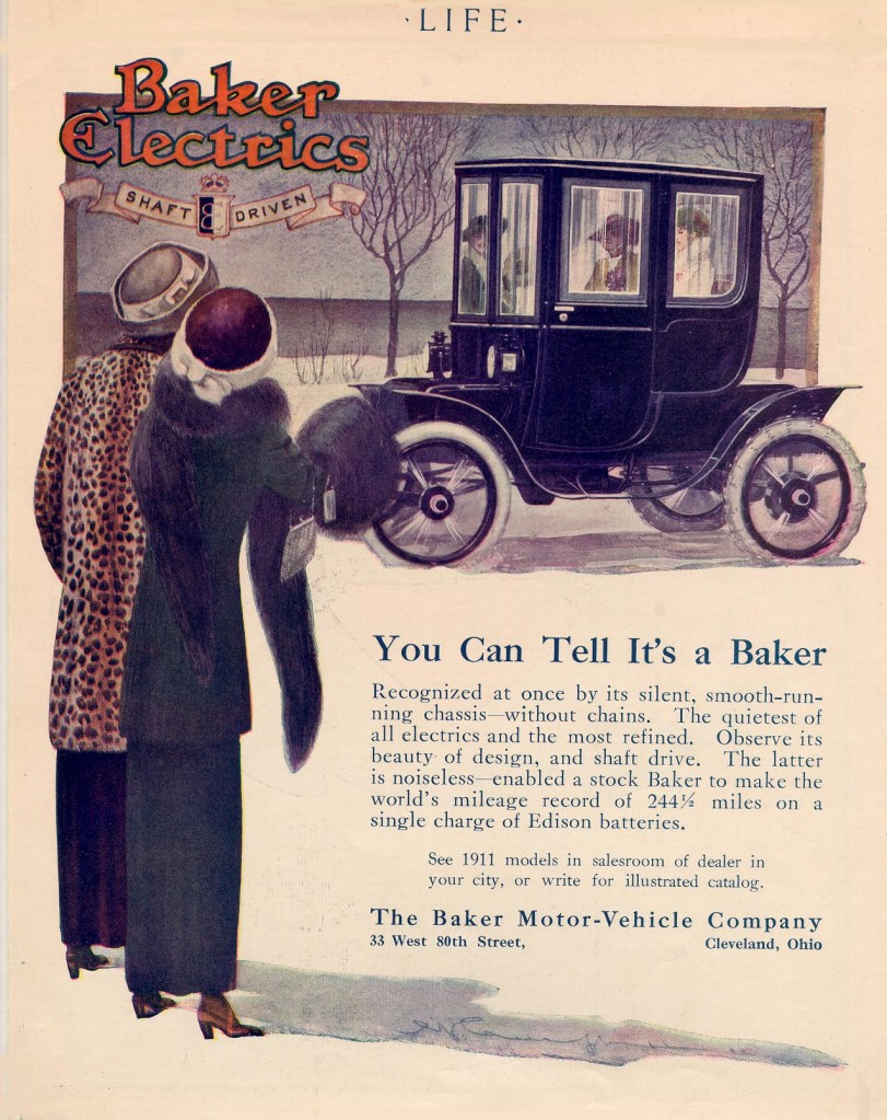 Baker-Electric Car