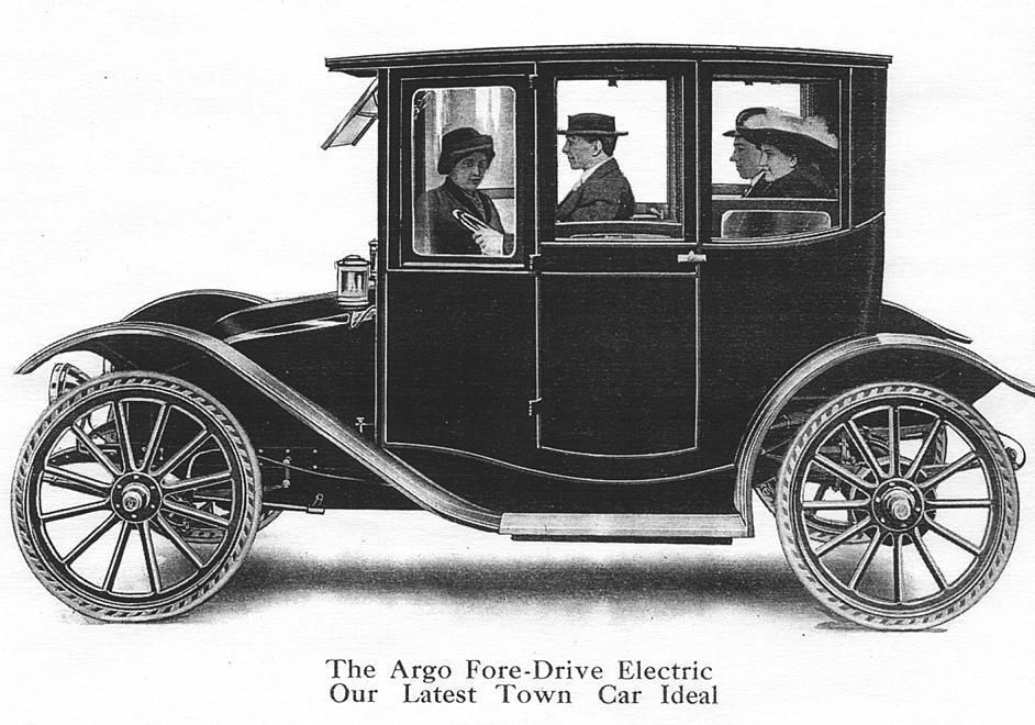 Electric Vehicle Company - early electric car