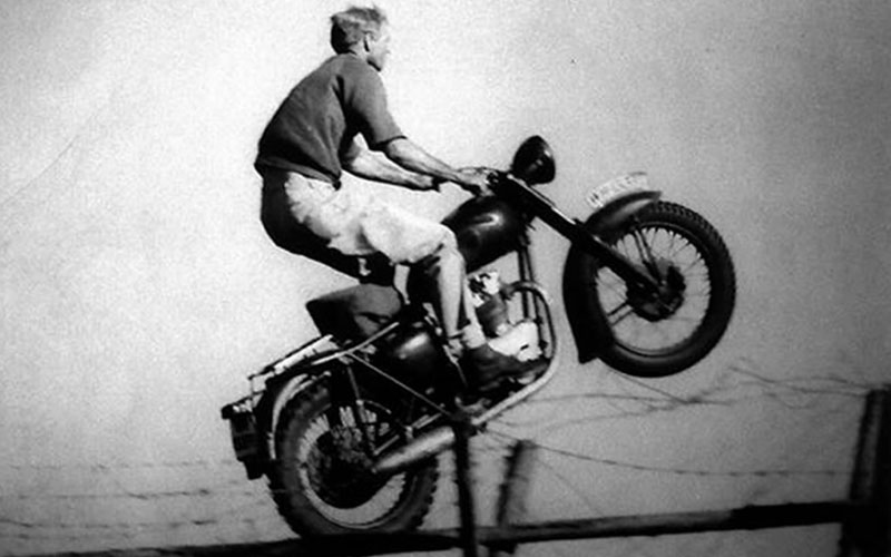 Great escape_indian motorcycle_steve mcqueen
