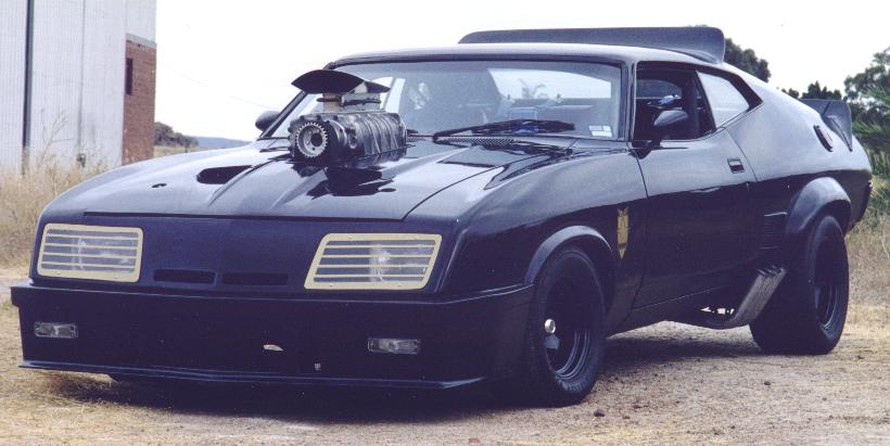 Mad Max 1973 Ford Falcon
