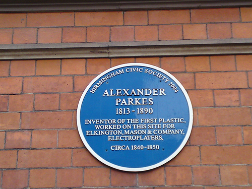 Alexander Parkes inventor of the first plastic