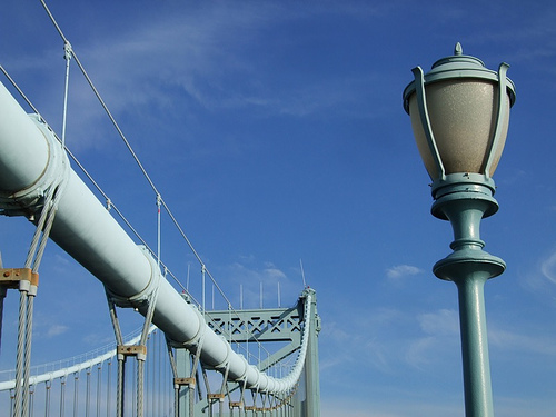 List of Top Ten Inventions by Ben Franklin - improved street lighting