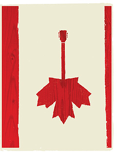 List of Top Ten Songs by Canadians About Canada