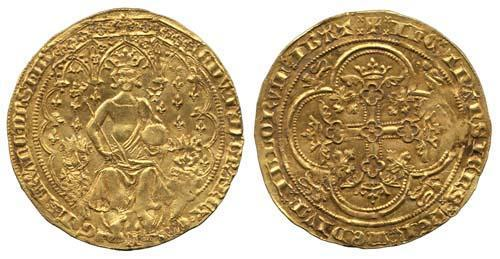 English florin 1344 Edward III