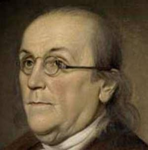 List of Top Ten Inventions by Ben Franklin - bifocal eye glasses