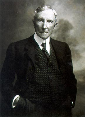 List of Top Ten Wealthiest People in History - John D. Rockefeller