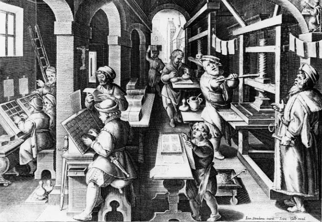 early printers-publishers