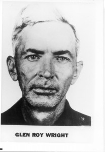 List of Top Ten Most Wanted FBI Fugitives 1950 - Glen Roy Wright