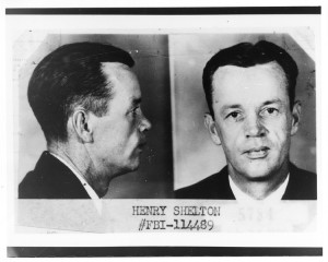 List of Top Ten Most Wanted FBI Fugitives 1950 - Henry Harland Shelton