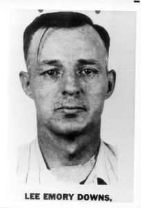 List of Top Ten Most Wanted FBI Fugitives 1950 - Lee Emory Downs