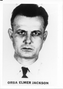 List of Top Ten Most Wanted FBI Fugitives 1950 - Orba Elmer Jackson