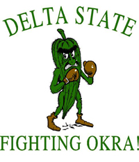List o' Top Ten Very Odd College Mascots - The_Fighting_Okra