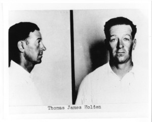 List of Top Ten Most Wanted FBI Fugitives 1950 - Thomas James Holden