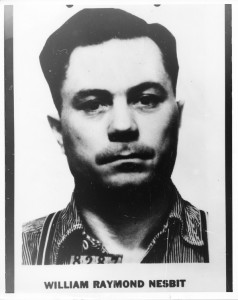 List of Top Ten Most Wanted FBI Fugitives 1950 - William Raymond Nesbit