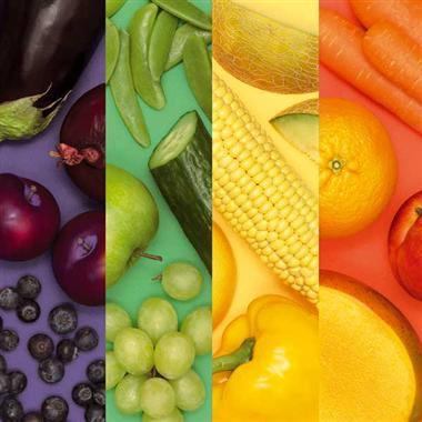 List of Top Ten Myths About Vegetables - Brightly Coloured Veggies Are Healthier