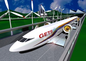 top ten list - futuristic urban travel networks and systems - flying train