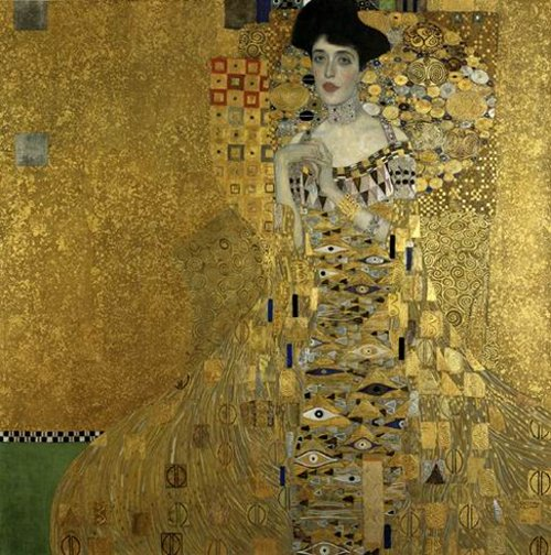 Portrait of Adele Bloch-Bauer by Gustav Klimt
