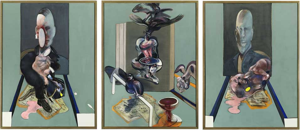 Tryptich 1976 Francis Bacon