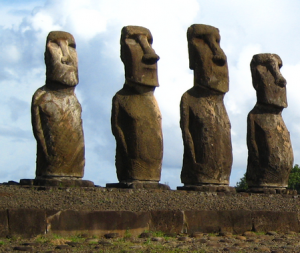 List of Top Ten Mysterious Archeological Discoveries - easter-island-statues