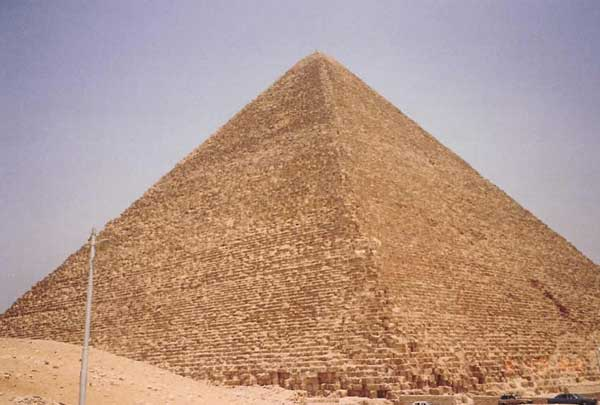 List of Top Ten Mysterious Archeological Discoveries - Pyramids