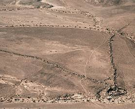 List of Top Ten Mysterious Archeological Discoveries - negev-desert walls