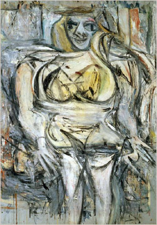 Willem-de-Kooning -- Woman III