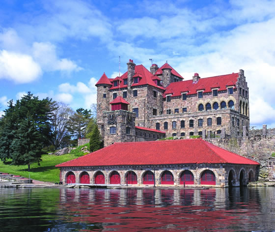 list of top ten castles of new york state