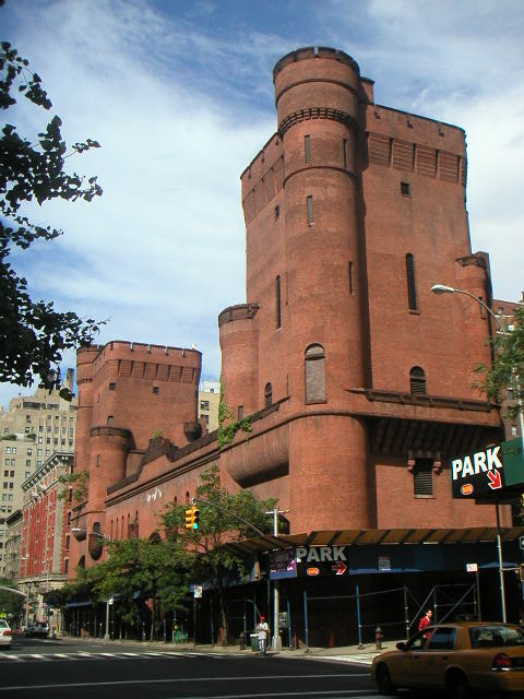 Squadron A Armory Castle in Manhattan