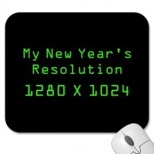 list of top ten geeky new years resolutions