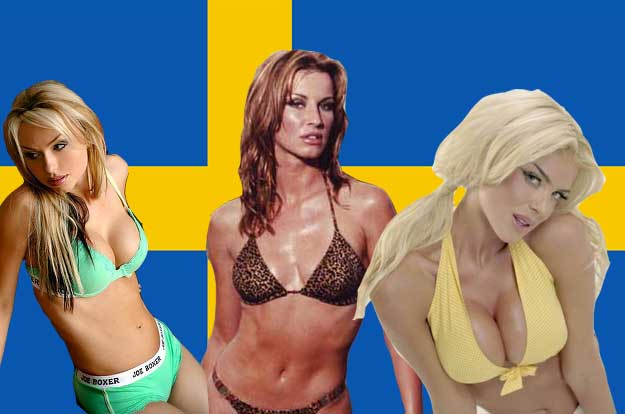 sweden hot women