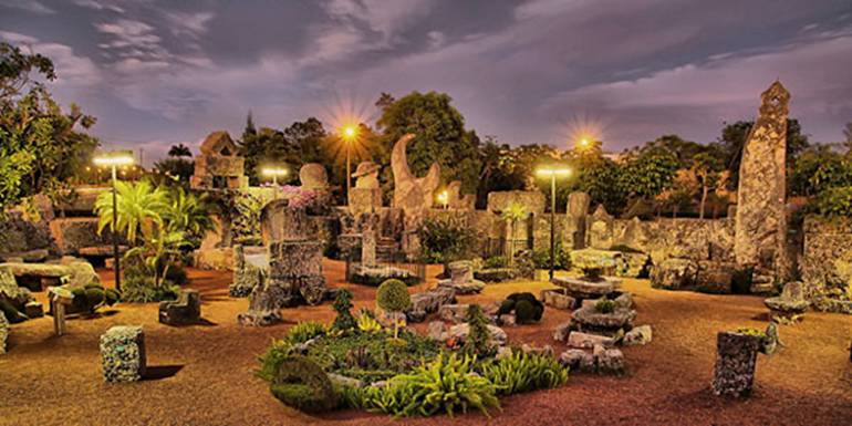 list of top ten grand castles of America - Coral Castle