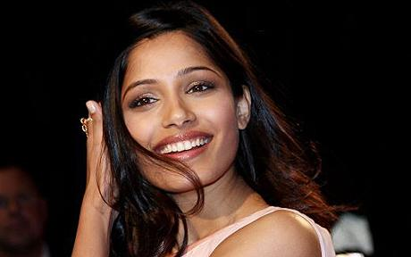 list of top ten sexiest bollywood babes - Freida Pinto