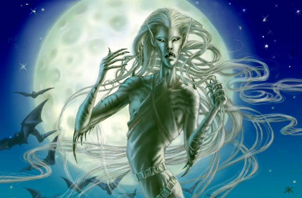 top ten list top ten legends of Ireland - the banshee