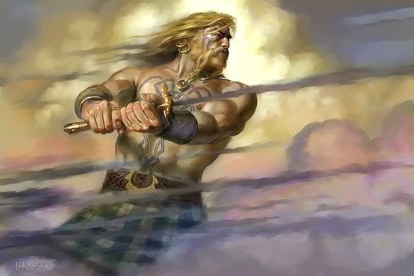 top ten list Irish legends - Celtic Sleeping Warriors