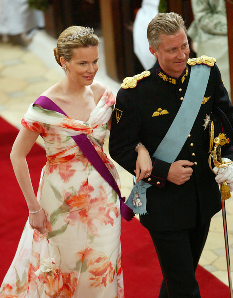 Prince Philippe and Mathilde royal wedding
