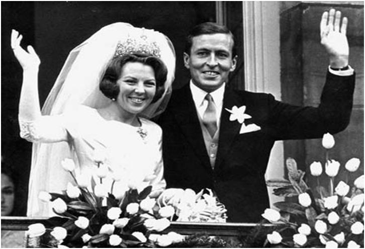 top ten list royal weddings - Queen Beatrix-Netherlands wedding