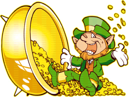 top ten list Irish legends - leprechaun