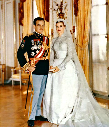 prince rainier_grace kelly_royal wedding