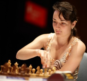 top ten list hottest female chess players - Kateryna Lahno