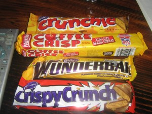List 0' Top Souvenirs From Your Canadian Holiday - Canadian chocolate bars