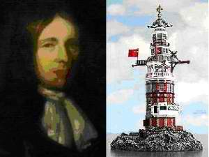 top ten list-inventors killed by their own inventions-Henry Winstanley The Lighthouse