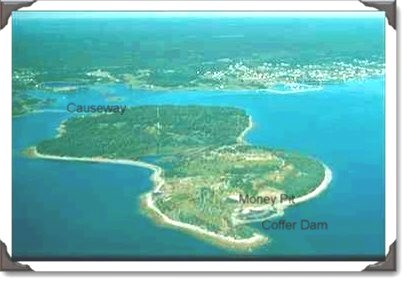 top ten list-top ten undiscovered treasures-Oak Island money pit