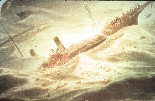 List o' Ten Amazing Treasures Discovered on Sunken Ships-ss_central_america