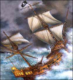 List o' Ten Amazing Treasures Discovered on Sunken Ships-Whydah