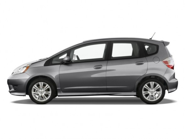 top ten list-list of top ten coolest new cars for under $18,000-2011-Honda-Fit
