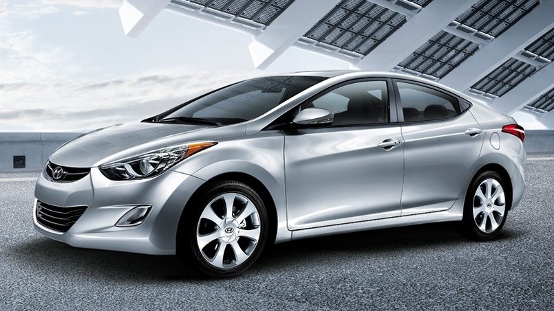 top ten list-list of top ten coolest new cars for under $18,000-2011-Hyundai-Elantr