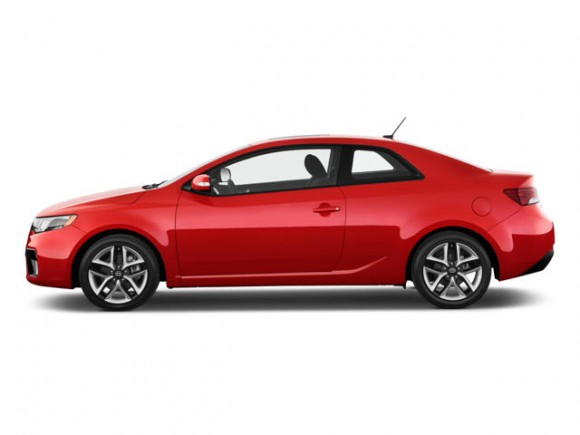 top ten list-list of top ten coolest new cars for under $18,000-2011-Kia-Forte-Koup