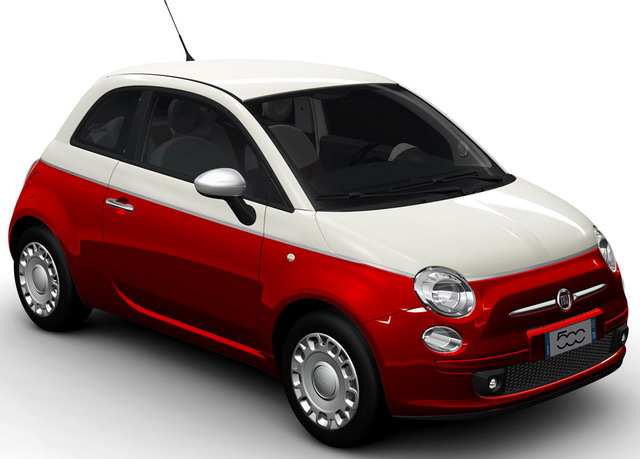 top ten list-list of top ten coolest new cars for under $18,000-2012-Fiat-500