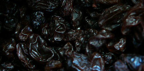 Crappy Halloween Treats Top Ten List - Raisins