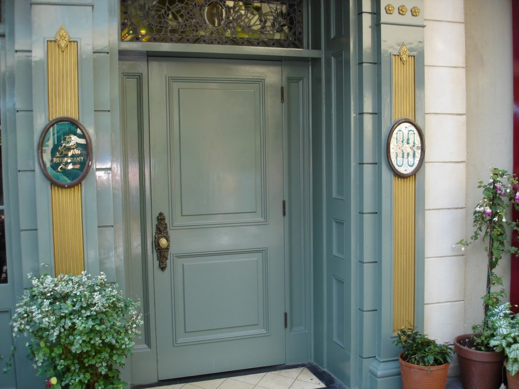 List O' Top Ten Highly Top Secret Places-Club 33 Disneyland